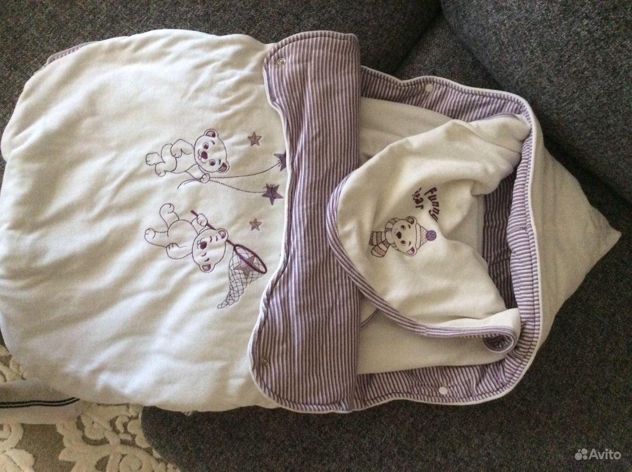 Конверт для новорождённого ребёнка. Иркутская область, Ангарск