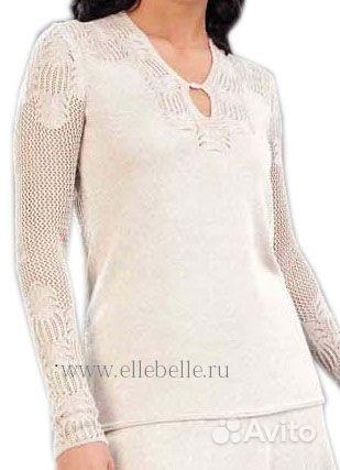 купить свитер крупной вязки женский