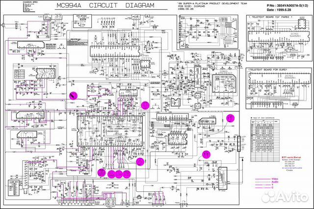 Схемы телевизоров lg