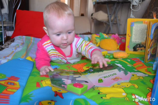 Развивающий коврик. Один из самых больших ребёнку в Челябинске.