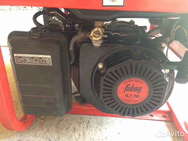 Генератор бензиновый fubag bs 2200 генератор