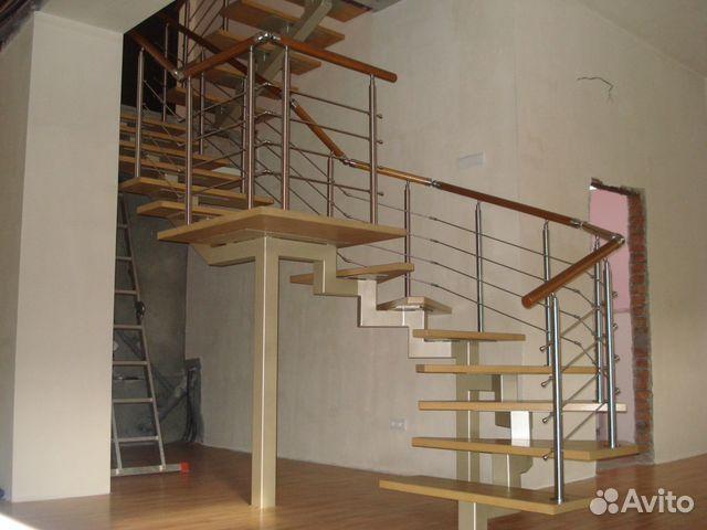 Лестница своими руками профильной трубы