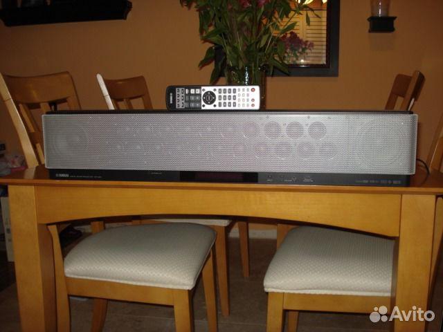 Yamaha ysp-3000 virtual surround speaker  yst-fsw150 subwoofer (used