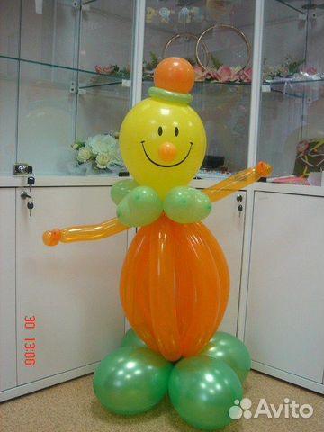Как сделать из шариков клоуна своими руками