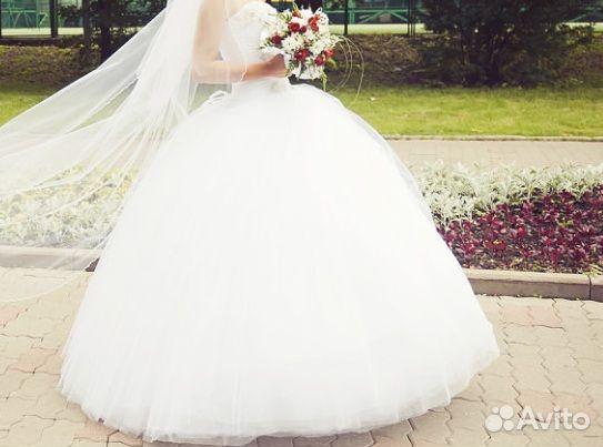 Белые свадебные платья самые пышные