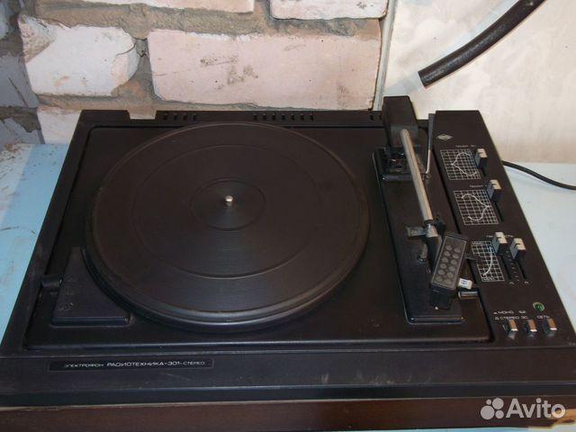 Электрофон Радиотехника-301-стерео.
