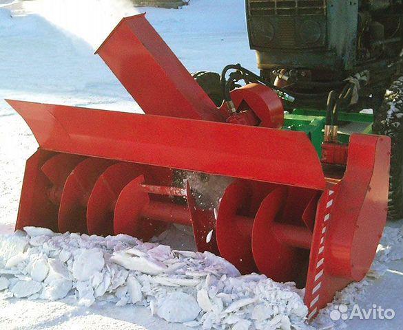 Ротор для снега на мтз 80 своими руками