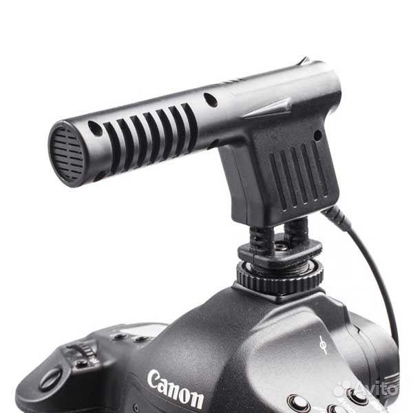 Микрофон для dslr камеры greenbean gb vm01 моно