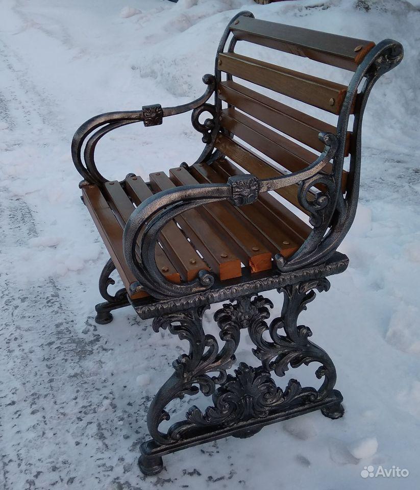 Уличные скамейки купить на Вуёк.ру - фотография № 6