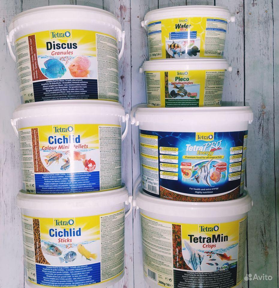 Корм для аквариумных рыбок фирмы tetra