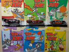 Tom and Jerry Hot Wheels набор 6шт Том и Джерри