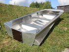 Алюмин.лодка Мста-Н дл.3.7 м. с булями и вёслами
