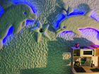 Сеанс галотерапии в новой соляной пещере моресоль