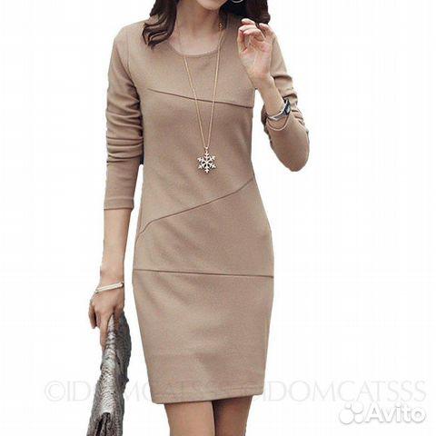 Авито теплое платье