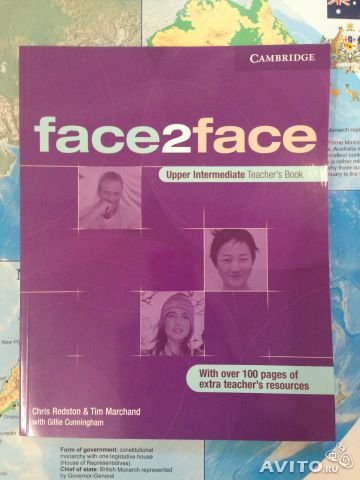 "Face 2 face teacher""s book upper intermediate нова— фотография №1"