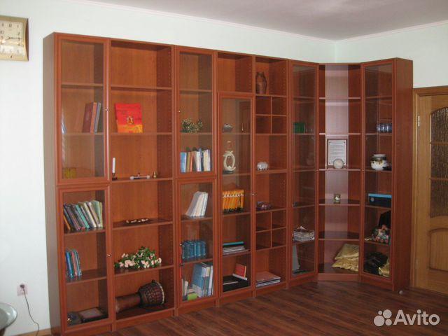 Библиотека, шкаф для книг, стеллаж купить в ставропольском к.