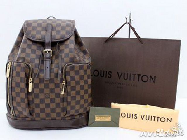 Рюкзак Louis Vuitton Damier Bosphore Backpac— фотография №1