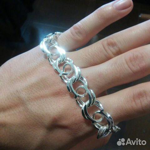 Виды мужских серебряных браслетов