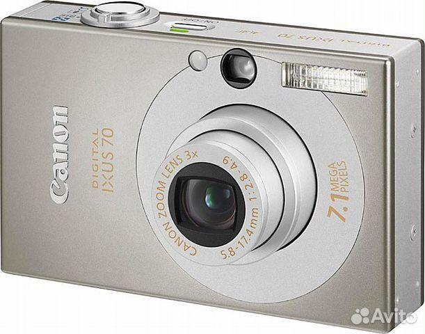 Инструкция к фотоаппарату canon ixus 70