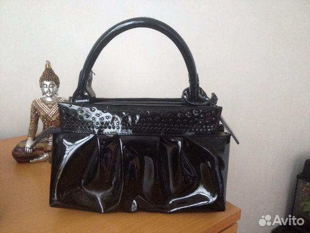 Женские сумки из лаковой кожи купить в Москве Купить