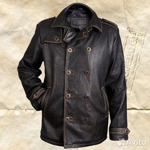 кожаные куртки из буйвола мужские