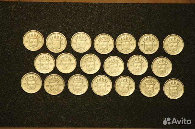 Шведские серебряные монеты монеты и аксессуары