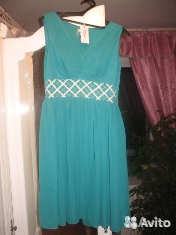 вязаные платья клубничка