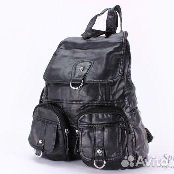 28a1d1359c57 Стильный женский рюкзак Dolphin 9517 черный купить в Санкт ...