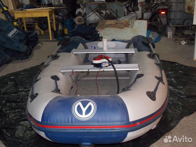 лодка с электромотором челябинск
