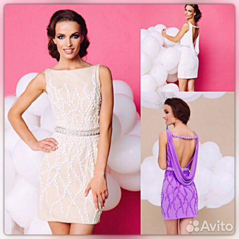 eba87bc3a69 Новое вечернее платье с открытой спиной