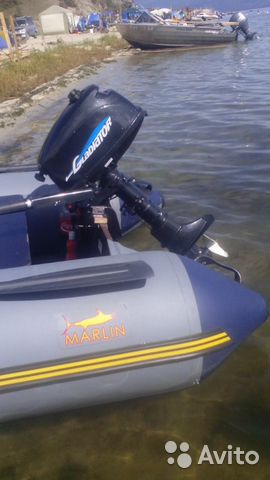 двигатель для моторной лодки марлин
