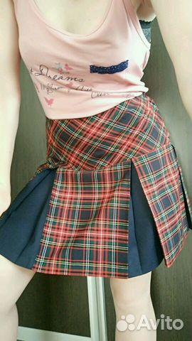 c786b252987 Юбка шотландка - Личные вещи
