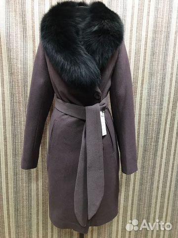 e48ee3697b4 Новое пальто с меховым воротником