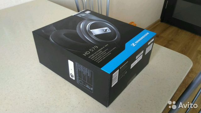 Наушники Sennheiser HD 579 + цап smsl M3 купить в Тульской