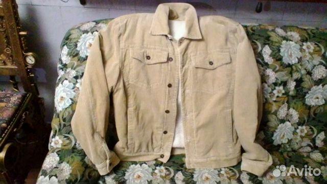 Куртка вельветовая на меху 89372217858 купить 1