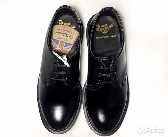 Ботинки Dr Martens 1461 Mono Black. Размер 39  72efab445b384