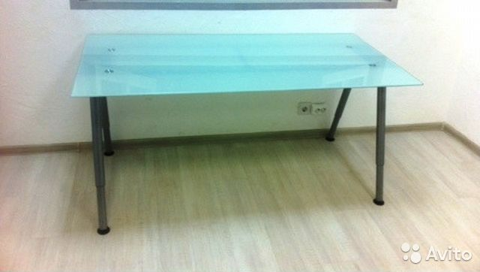 стеклянный стол Ikea купить в москве на Avito объявления на сайте