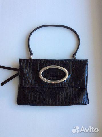 9fecbf0d53d3 Лаковая кожаная сумочка Gillian купить в Новосибирской области на ...