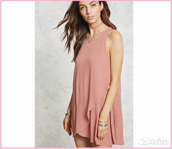 cf8a9bb80682df6 Новое пляжное платье Forever21 из США, вискоза 100 купить в Санкт ...