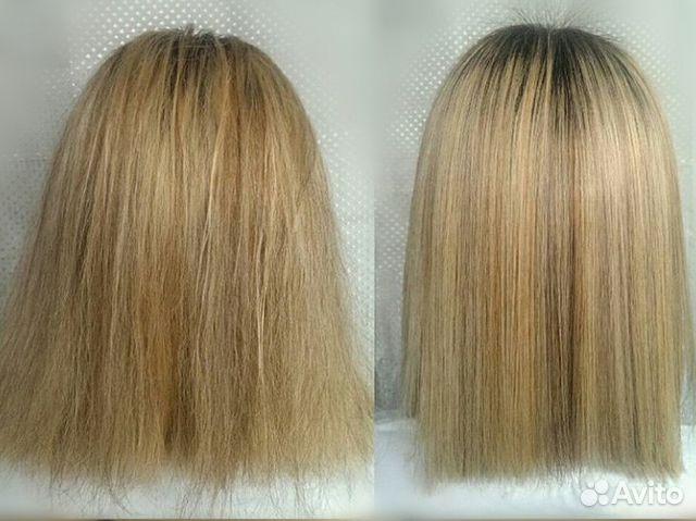 Био-выпрямление волос купить 3