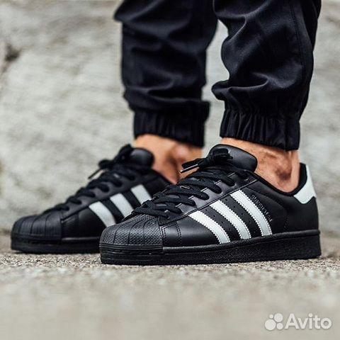 cd1ecedb Кроссовки Adidas Superstar Black Все размеры 36-45 | Festima.Ru ...