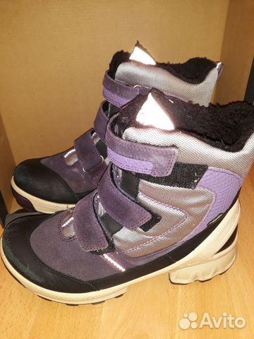 3d6b924a52dc9c Зимние ботинки ecco 36р - Личные вещи, Детская одежда и обувь - Московская  область, Одинцово - Объявления на сайте Авито
