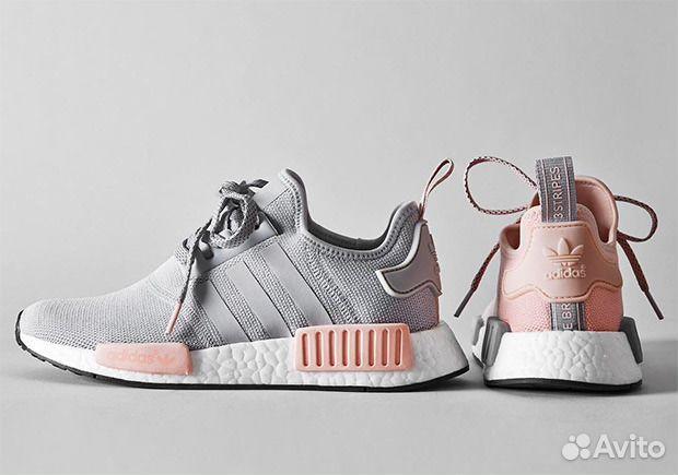 adidas NMD R1 Pink Grey | Bucket list | Adidas sneakers