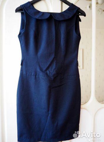 c1904ac0c2e Платье синее офисное купить в Москве на Avito — Объявления на сайте ...