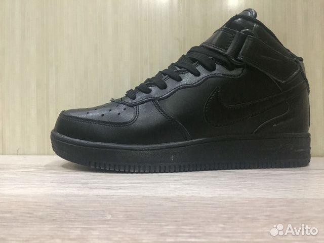 9b8c4d8b Кроссовки Nike Air Force 1 mid Black 42 р-р   Festima.Ru ...