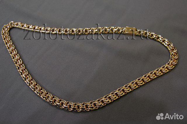 d2318c0fdb0 Золотая цепочка Бисмарк из своего золота купить в Санкт-Петербурге ...