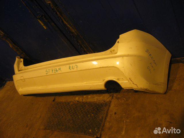 Бампер задний Honda Stream RN7 89135600055 купить 2