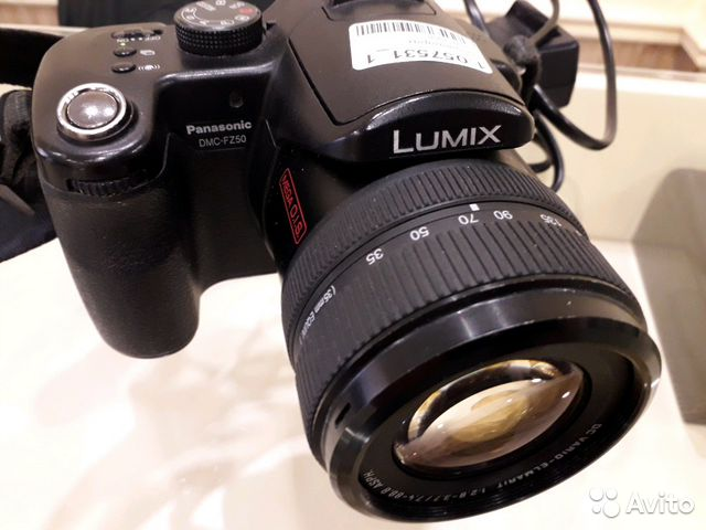 Фотоаппарат Panasonic Lumix DMC-FZ50
