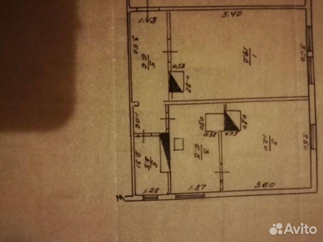 2-к квартира, 46.6 м², 2/2 эт. купить 10