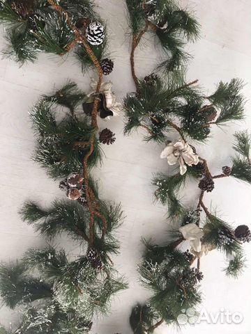 Украшение на арку, на Новый год,елка 2 шт разные  89814523849 купить 2